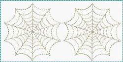 Spider Webs Block embroidery design