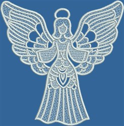FSL Joyful Angel embroidery design