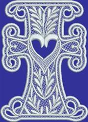 FSL Prosperity Love Cross embroidery design