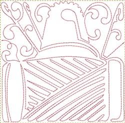 Thread Thimble Block embroidery design