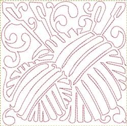 Yarn Balls Block embroidery design