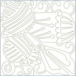 Yarn Scissors Block embroidery design