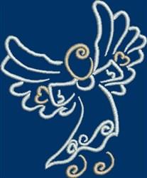 Celebrating Angel embroidery design