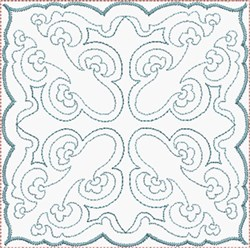 Simple Quilt Block embroidery design