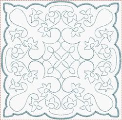 Elegant Quilt Block embroidery design