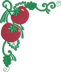 Tomato Corner embroidery design