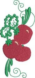 Tomato Border embroidery design