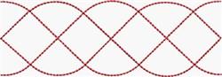 Redwork Ribbon embroidery design