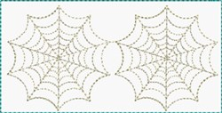 Spider Webs Block embroidery design