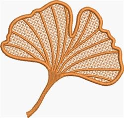 FSL Ginko Leaf embroidery design