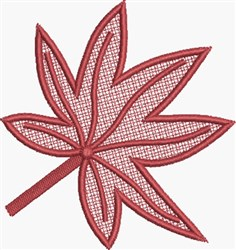 FSL Chestnut Leaf embroidery design