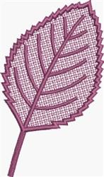 FSL Elm Leaf embroidery design