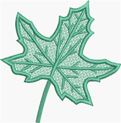 FSL Maple Leaf embroidery design