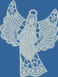 FSL Praying Angel embroidery design