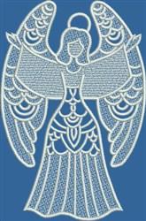 FSL Singing Angel embroidery design