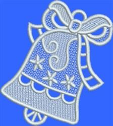 FSL White Stars Bell embroidery design