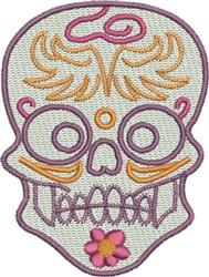Skull Rider embroidery design