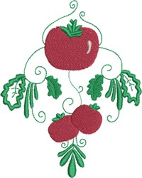 Tomato Cluster embroidery design