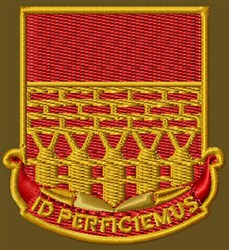 12th Engineer Bn embroidery design
