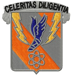 8th Signal Battalion embroidery design