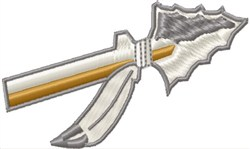 Arrow embroidery design