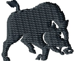 Small Boar embroidery design