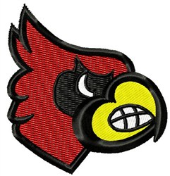 Mad Cardinal embroidery design
