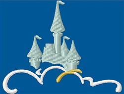 Castles In Clouds embroidery design