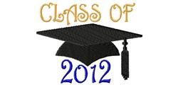 Class Cap 2012 embroidery design
