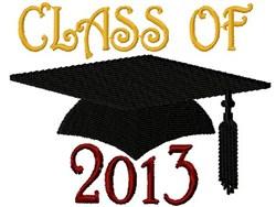 Class Cap 2013 embroidery design