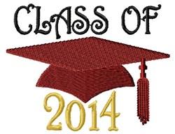 Class Cap 2014 embroidery design