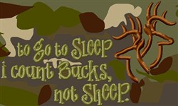 Count Bucks Caption embroidery design