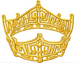 Full Crown embroidery design