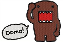 Domo Cartoon embroidery design