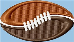Fancy Football embroidery design
