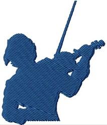 Fiddler embroidery design
