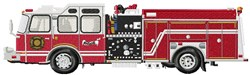 Fire Engine Truck embroidery design