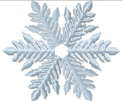 Snow Flake embroidery design