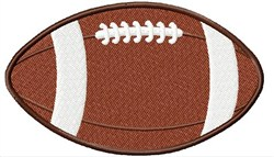 Large Football embroidery design
