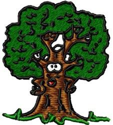 Fun Tree embroidery design