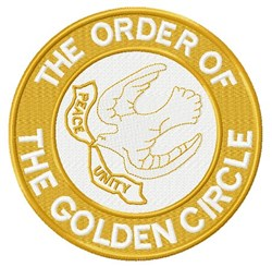 Order Golden Circle Emblem embroidery design