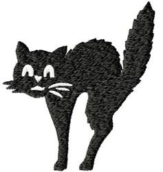 Spittin Kitty embroidery design