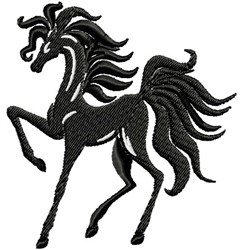 Fancy Horse embroidery design