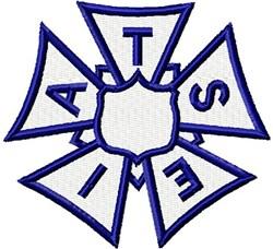 IATSE Union Emblem embroidery design