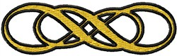 Double Infinity embroidery design