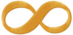 Infinity Sign embroidery design