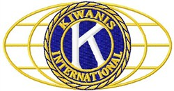 Kiwanis embroidery design