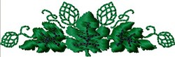 Leafy Vine embroidery design