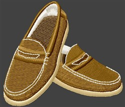Penny Loafers embroidery design