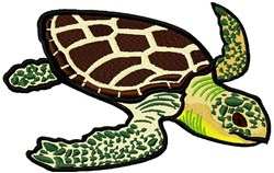 Sea Turtle embroidery design